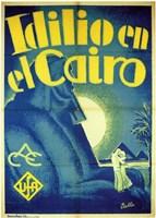 Idilio en el Cairo Fine Art Print