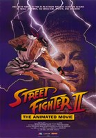Street Fighter II Movie Fine Art Print