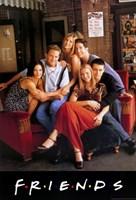 Friends (TV) Cast Fine Art Print