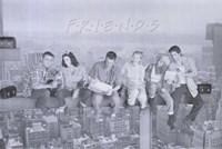 Friends (TV) Black and White Fine Art Print