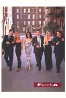 Friends (TV) Wedding Fine Art Print