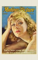 Greta Garbo - Motion Picture Fine Art Print