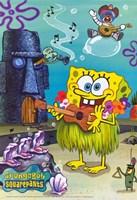 SpongeBob SquarePants - Hula Fine Art Print