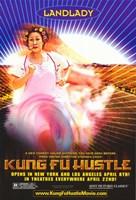 Kung Fu Hustle Landlady Framed Print