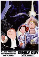 Family Guy Star Wars Jedi Framed Print