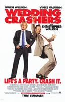 Wedding Crashers - Crash it. Fine Art Print