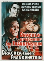Dracula Prisoner of Frankenstein/Werewolf's Shadow Fine Art Print