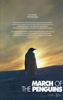 March of the Penguins Silhouette Fine Art Print