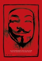 V for Vendetta Mask Fine Art Print