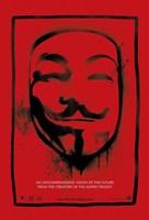 V for Vendetta Mask Fine Art Print