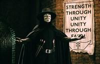 V for Vendetta Sign Horizontal Fine Art Print