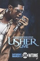 One Night One Star: Usher Live Fine Art Print