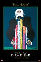 World Series of Poker Full House Fine Art Print