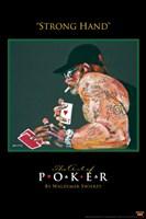 World Series of Poker Strong Hand Framed Print