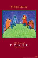 World Series of Poker Short Stack Animals Framed Print