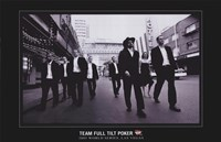 World Series of Poker Team Full Tilt Poker Fine Art Print