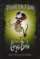 Corpse Bride Throw Him a Bone Framed Print