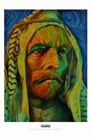 Muslim Van Gogh Fine Art Print