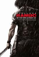 Rambo - Rain Fine Art Print
