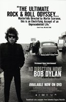 No Direction Home: Bob Dylan Documentary Framed Print