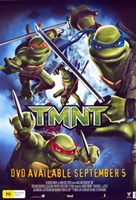 Teenage Mutant Ninja Turtles DVD Fine Art Print