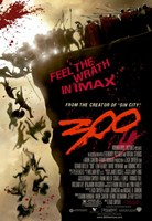 300 Feel the Wriath in Imax Fine Art Print