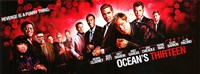 Ocean's Thirteen Fine Art Print