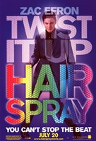 Hairspray - Zac Efron Fine Art Print