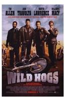 Wild Hogs Fine Art Print