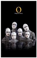 """Cirque du Soleil - """"O"""", c.1998 (zebras) Framed Print"""