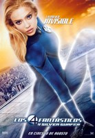Fantastic Four: Rise of the Silver Surfer - Susan Storm Fine Art Print