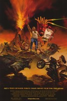 Aqua Teen Hunger Force Colon Movie Film for Theaters Fine Art Print