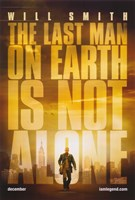 I Am Legend - The last man on earth is not alone Fine Art Print