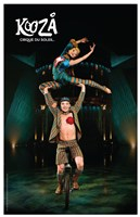 Cirque du Soleil - Kooza, c.2007 (unicycle duo) Wall Poster