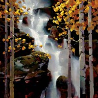 Waterfall Fine Art Print