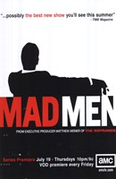 Mad Men (TV) Framed Print