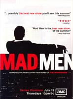 Mad Men (TV) Critics Rave Framed Print