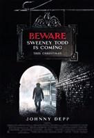 Sweeney Todd: The Demon Barber of Fleet Street Fine Art Print