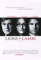 Lions For Lambs Fine Art Print