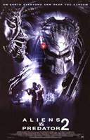 Aliens Vs. Predator: Requiem Movie Framed Print