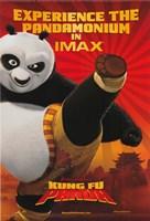 Kung Fu Panda Kicking Fine Art Print