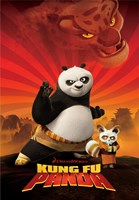 Kung Fu Panda Crouching Tiger Fine Art Print