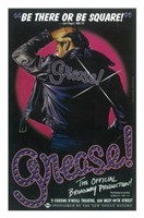 Grease (Broadway) Official Production Framed Print