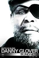 Blindness Danny Glover Framed Print