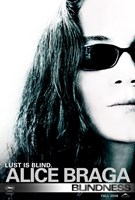 Blindness Alice Braga Framed Print