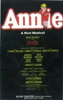 Annie (Broadway) - style A Fine Art Print