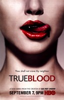 True Blood (TV) Thou Shall Not Crave Thy Neighbor Framed Print