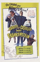 Bud Abbott and Lou Costello Meet Frankenstein, c.1948 Fine Art Print