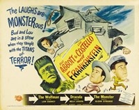 Bud Abbott and Lou Costello Meet Frankenstein, c.1948 Framed Print
