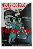 Bud Abbott and Lou Costello Meet Frankenstein, c.1948 (foreign) Fine Art Print